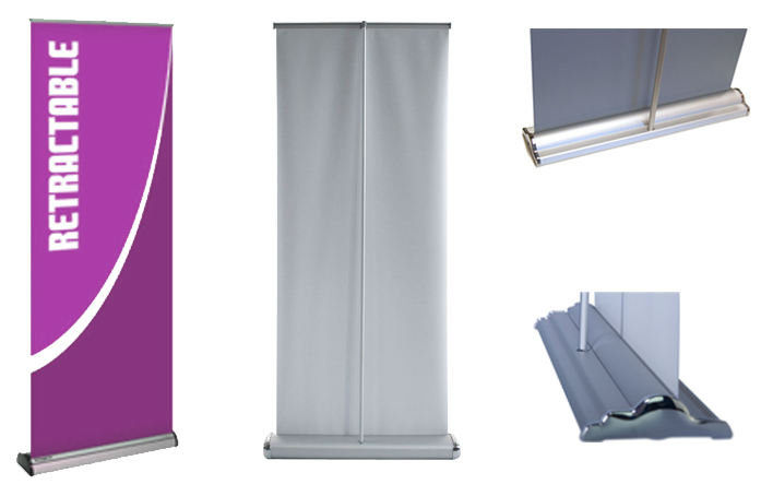 3 types of the most popular banner stands sign4x