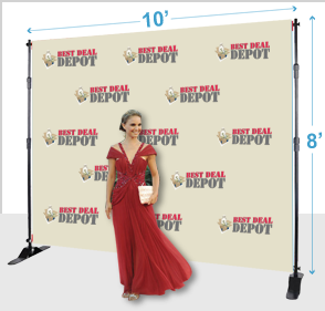 Step &amp Repeat Backdrop